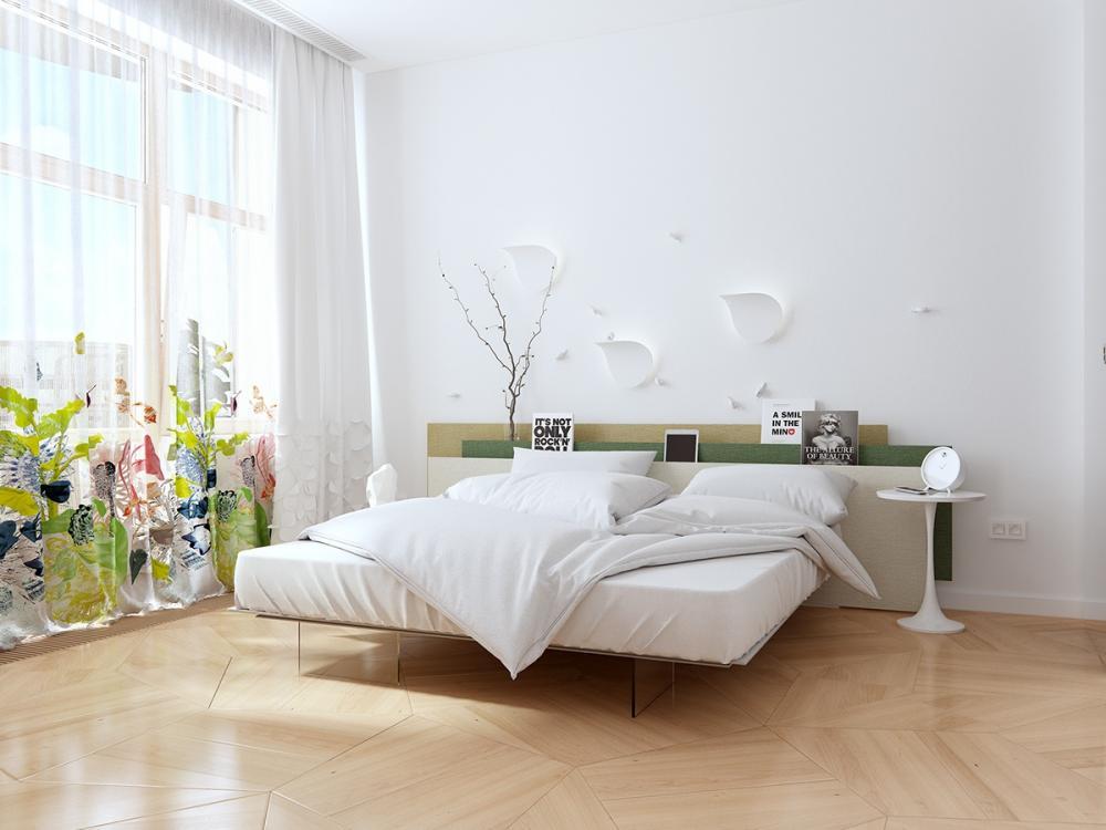 Thiết kế phòng ngủ đẹp hoàn hảo, phù hợp với mọi phong cách