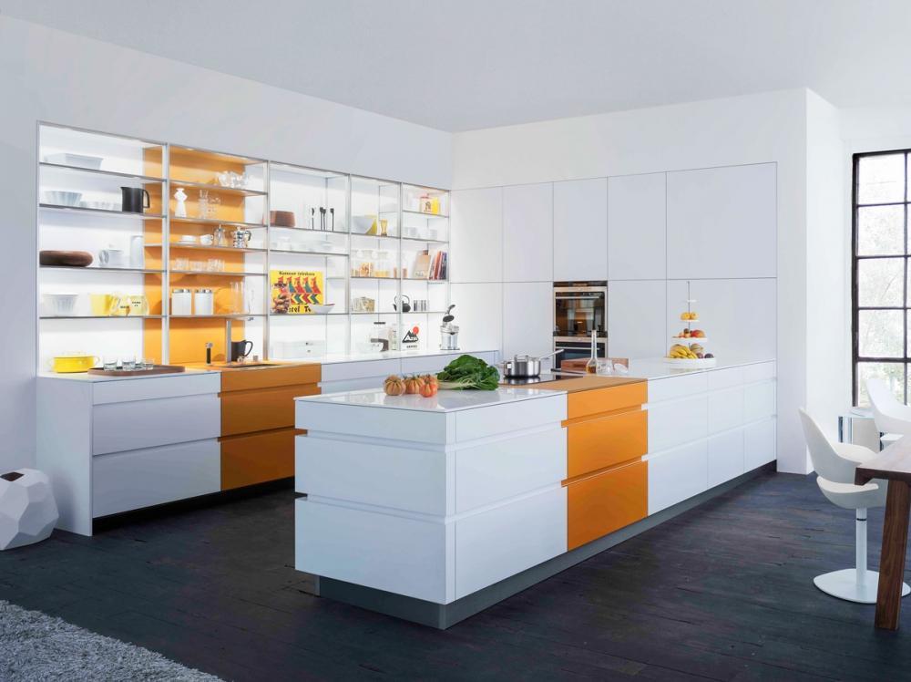 Những mẫu thiết kế tủ bếp hiện đại, độc đáo