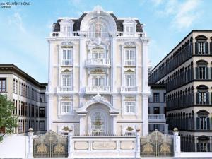 HALOCONS thi công lắp đặt hoàn thiện hạng Biệt thự Nguyễn Thông