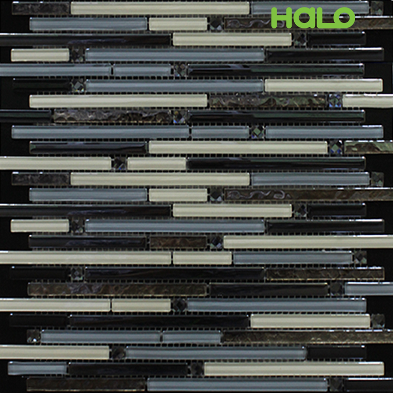 Gạch mosaic thủy tinh - AMY083