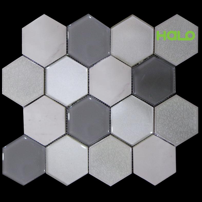 Gạch mosaic men rạn - AXC171