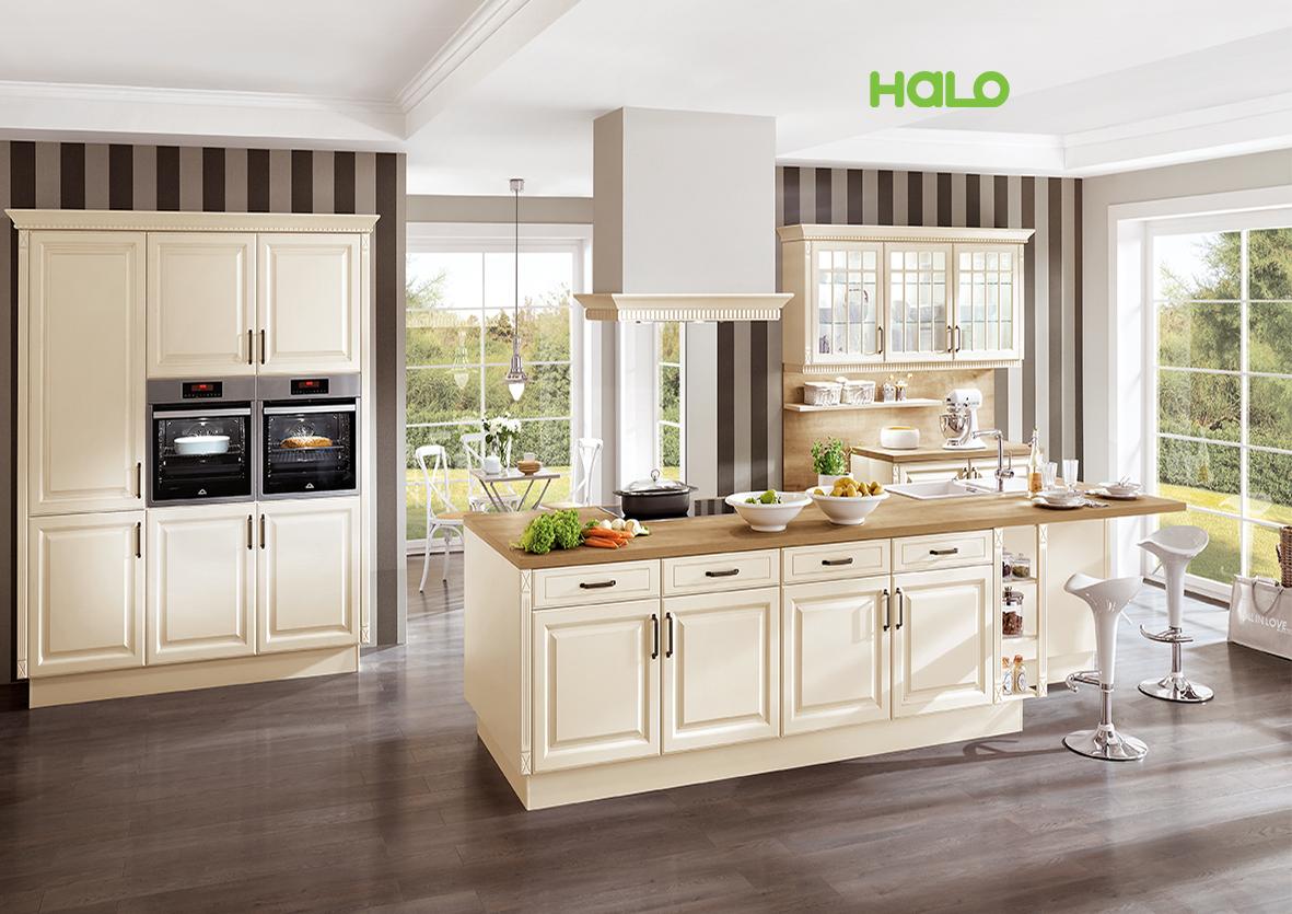 Tủ bếp Đức - Castello390_M