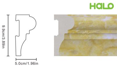Len nhựa vân đá marble - JC02-342