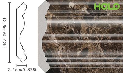 Len nhựa vân đá marble - JC09-B12