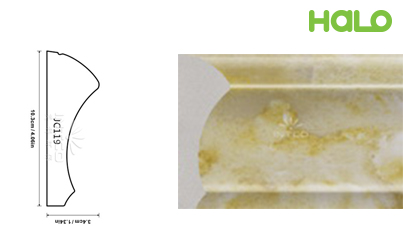 Len nhựa vân đá marble - JC119-342