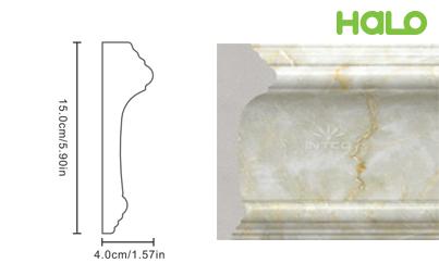 Len nhựa vân đá marble - JC165-367
