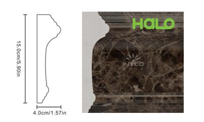 Len nhựa vân đá marble - JC165-B12