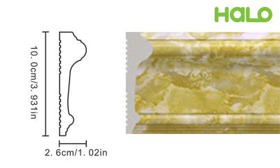 Len nhựa vân đá marble - JC167-342