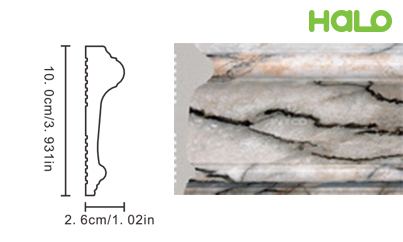 Len nhựa vân đá marble - JC167-368