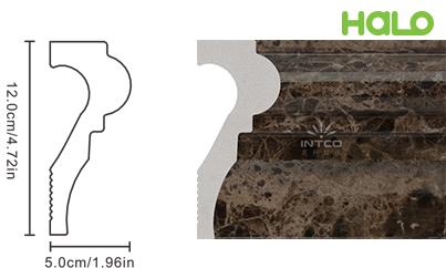 Len nhựa vân đá marble - JC305-B12