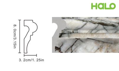 Len nhựa vân đá marble - JC315-368
