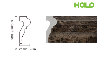 Len nhựa vân đá marble - JC315-B12