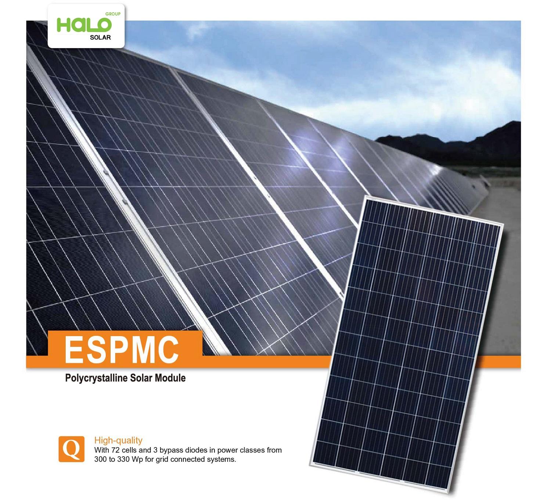 Tấm pin năng lượng mặt trời ESPMC 300-330