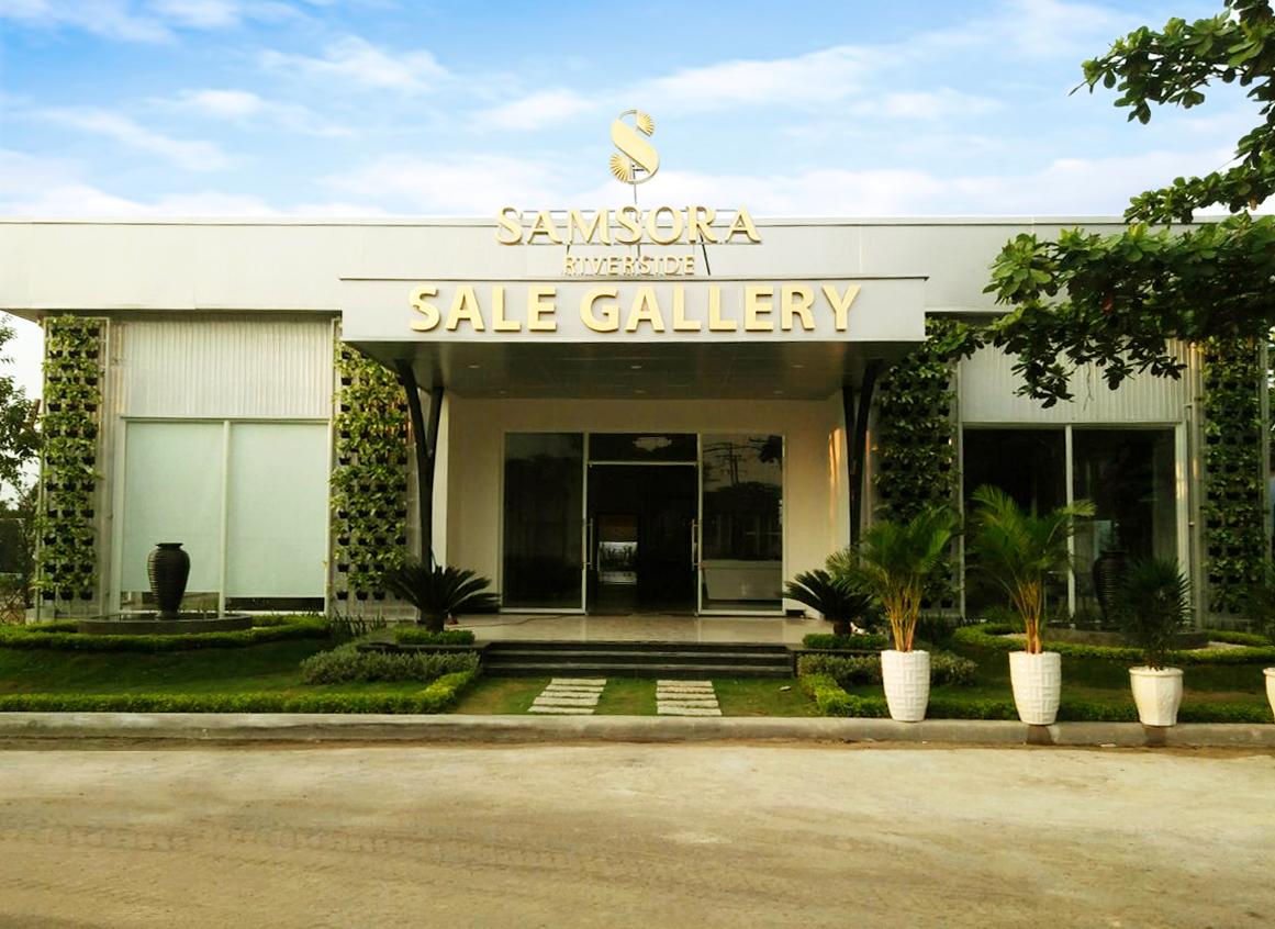 Thi công xây dựng - hoàn thiện Showroom & nhà mẫu SACOM Bình Thắng