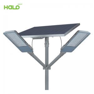Đèn đường năng lượng mặt trời kháng nước đế hợp kim nhôm thông minh 0830E150-01