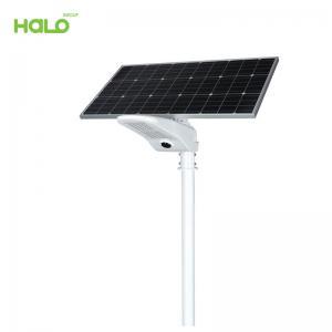 Đèn đường năng lượng mặt trời LED IP65 kháng nước cảm ứng chuyển động bên ngoài PIR50W 0875A50-01