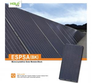 Tấm pin năng lượng mặt trời EPSA (BK) 190-200