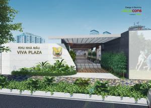 Nhà mẫu và Sales Gallery dự án Viva Plaza