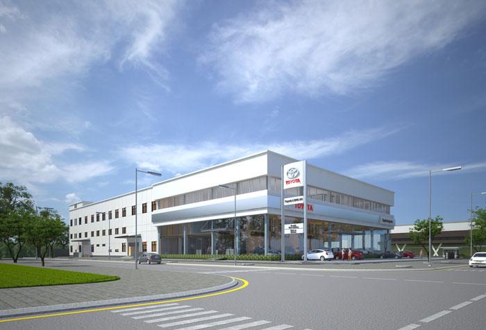 Văn phòng và Showroom Toyota