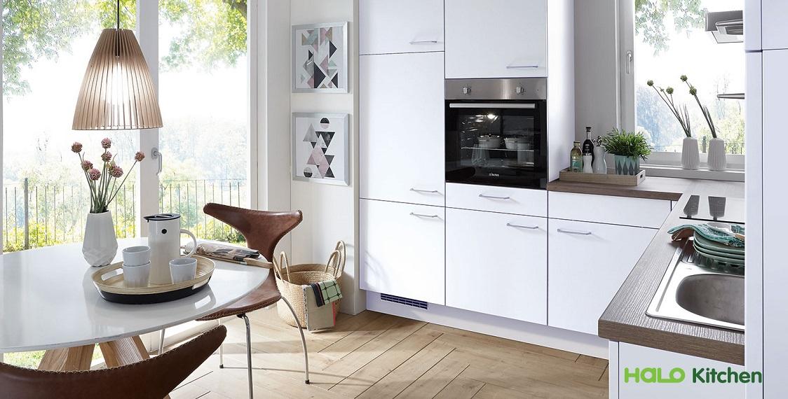 Thiết kế tủ bếp hiện đại theo phong cách đương đại