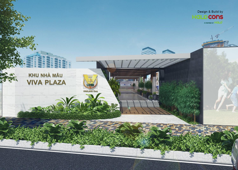 Nhà mẫu và Sales Gallery Viva Plaza - Dự án Halo Group thiết kế, xây dựng vật liệu hoàn thiện