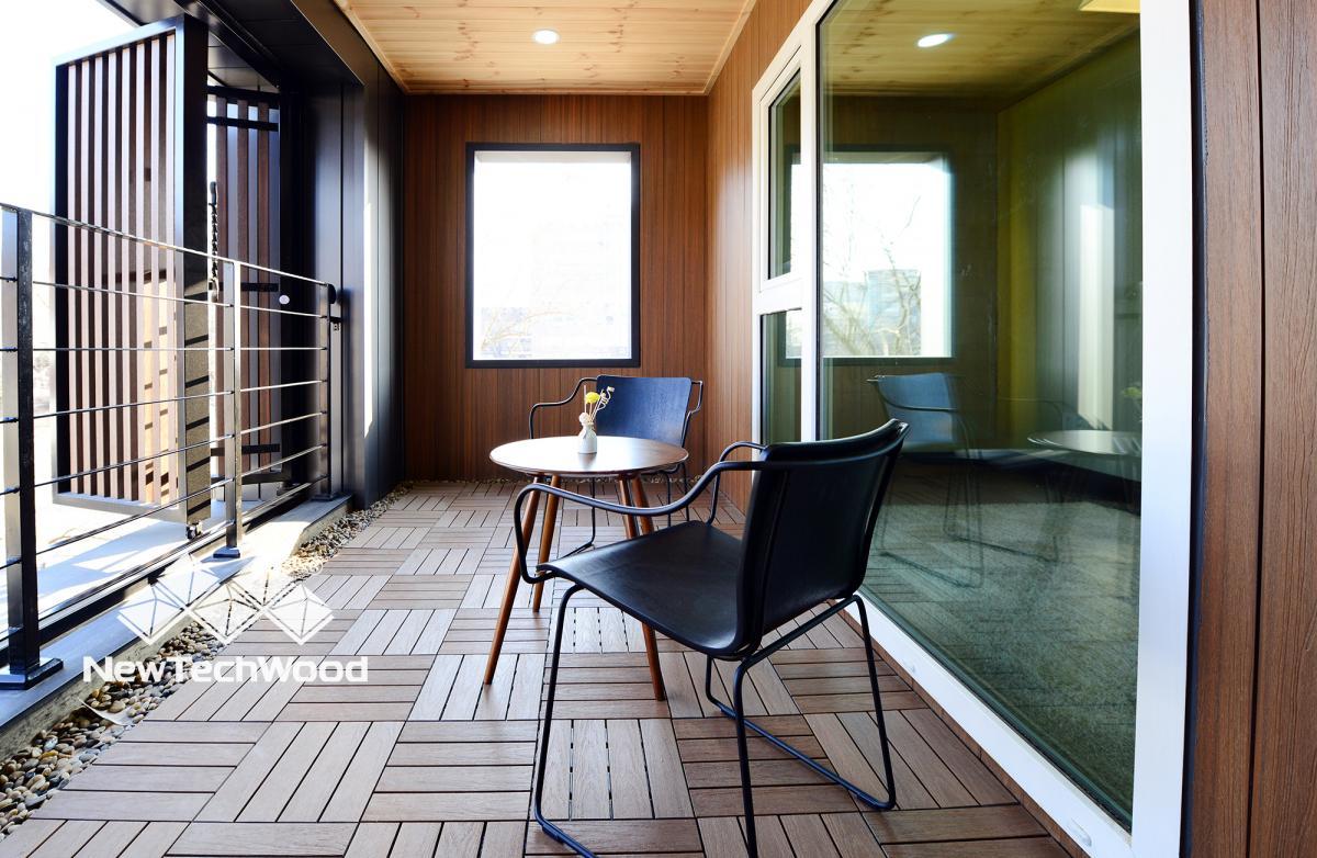 Ván lót sàn ngoài trời dạng vỉ theo phong cách thiết kế của riêng bạn