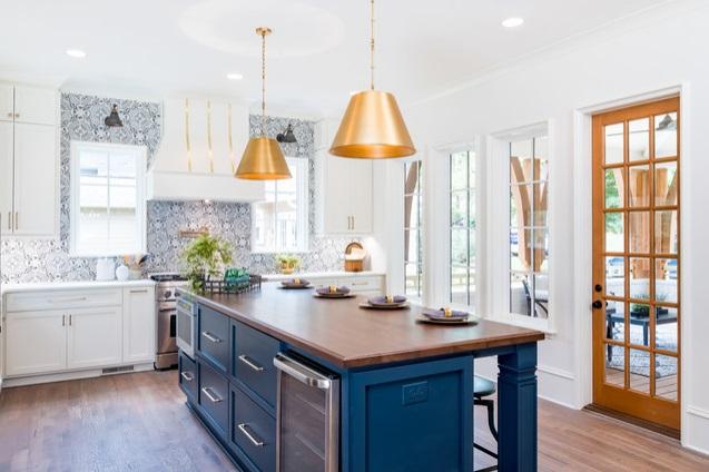 Sắc xanh cổ điển – màu của năm 2020 trong thiết kế nội thất