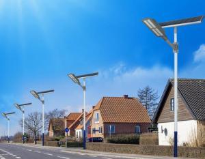 Đèn đường sử dụng năng lượng mặt trời - giải pháp tiết kiệm điện tối ưu
