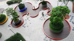 Sàn nhựa ngoài trời giải pháp tối ưu cho sân vườn và ngoại thất
