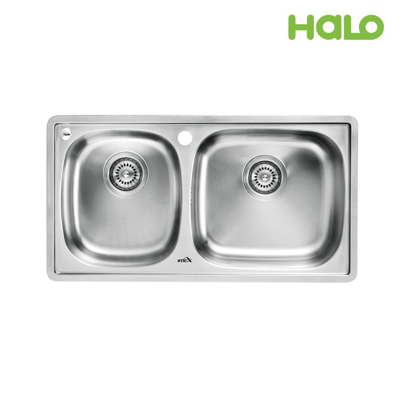 Bồn rửa chén 2 ngăn - S50501