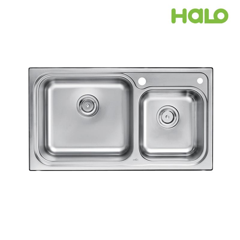 Bồn rửa chén 2 ngăn - S50509