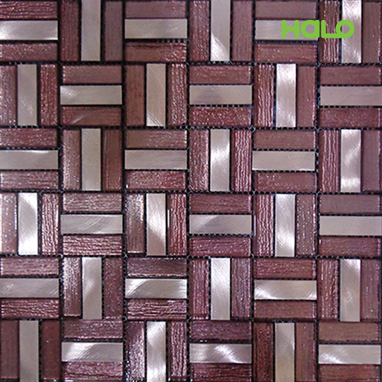 Gạch mosaic kim loại - AMD444