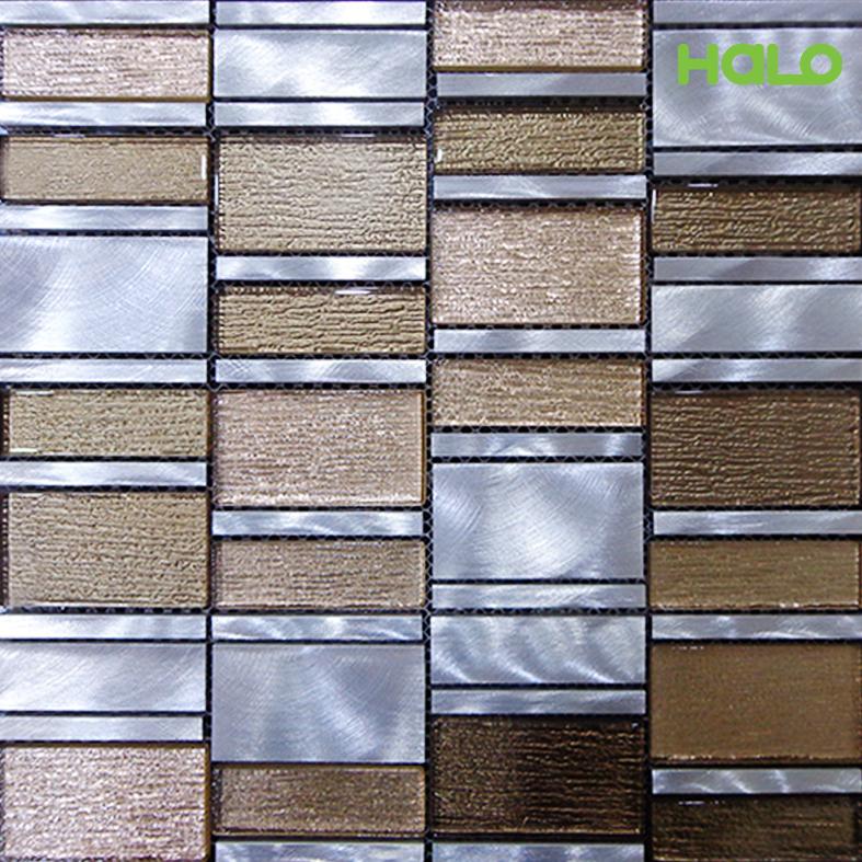 Gạch mosaic kim loại - AMD449