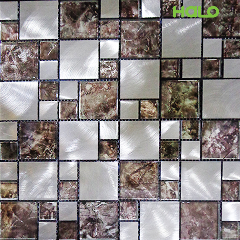 Gạch mosaic kim loại - AMD452