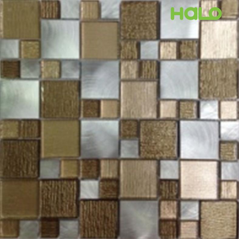 Gạch mosaic kim loại - AMD453