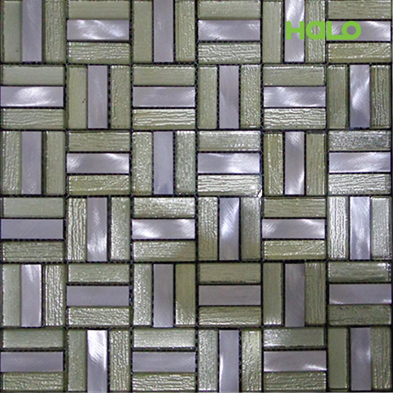 Gạch mosaic kim loại - AMD455
