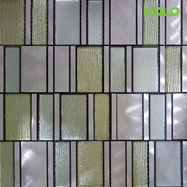Gạch mosaic kim loại - AMD457