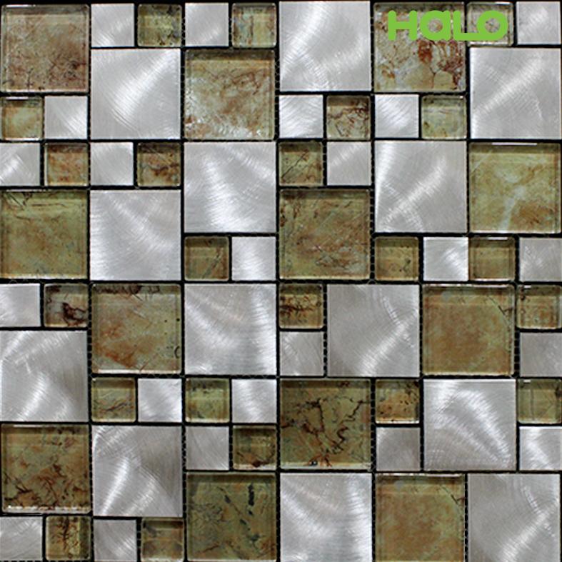 Gạch mosaic kim loại - AMD459