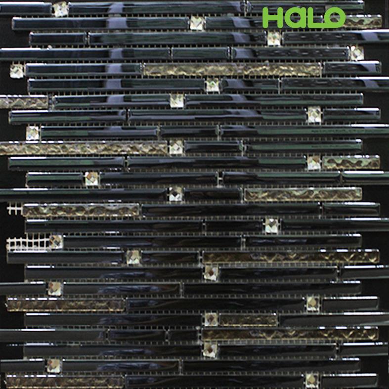 Gạch mosaic thủy tinh - AMY075