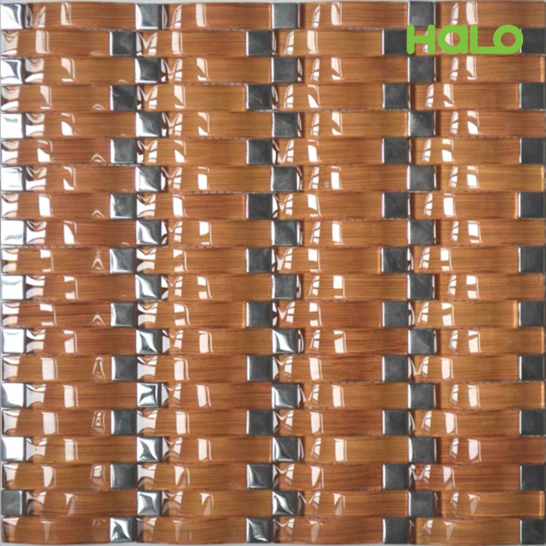 Gạch mosaic thủy tinh - AMY091