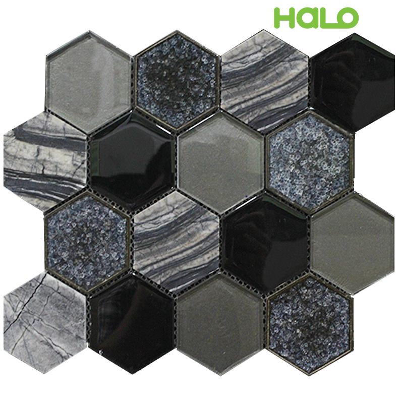 Gạch mosaic men rạn - AXC151