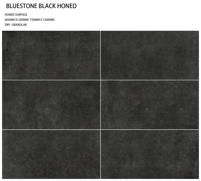 Porcelain - BLUESTONE BLACK HONED
