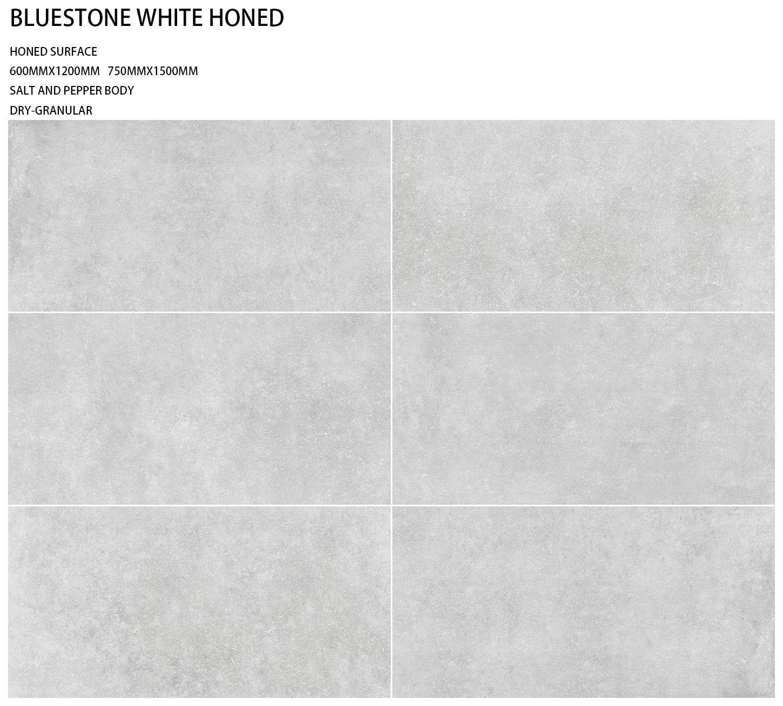 Porcelain - BLUESTONE WHITE HONED
