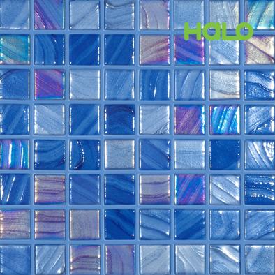 Gạch mosaic TBN - BLUE BRUSH