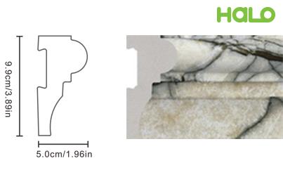 Len nhựa vân đá marble - JC02-368
