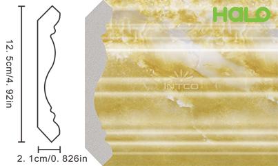 Len nhựa vân đá marble - JC09-342