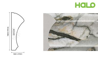 Len nhựa vân đá marble - JC119-368