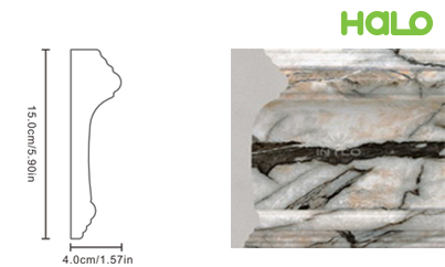 Len nhựa vân đá marble - JC165-368