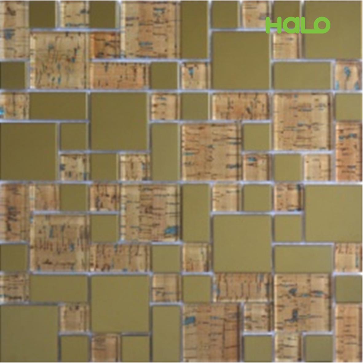 Gạch mosaic kim loại - LJSY023
