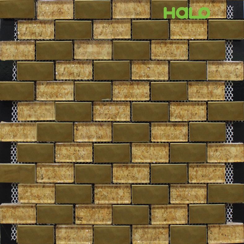 Gạch mosaic kim loại - LJSY037C